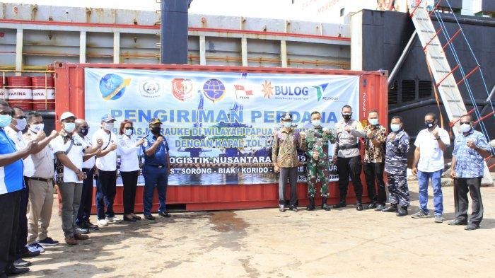 Utara-Selatan Papua Jadi Rute Perdana Tol Laut: Sejarah Baru Visi Poros Maritim Indonesia