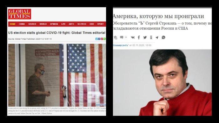 Begini Media Internasional Memberitakan Pilpres Amerika Serikat, Ada yang Anggap Memalukan