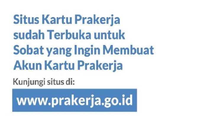 Pendaftaran Akun Kartu Prakerja Gelombang 12 Telah Dibuka, Segera Login di www.prakerja.go.id