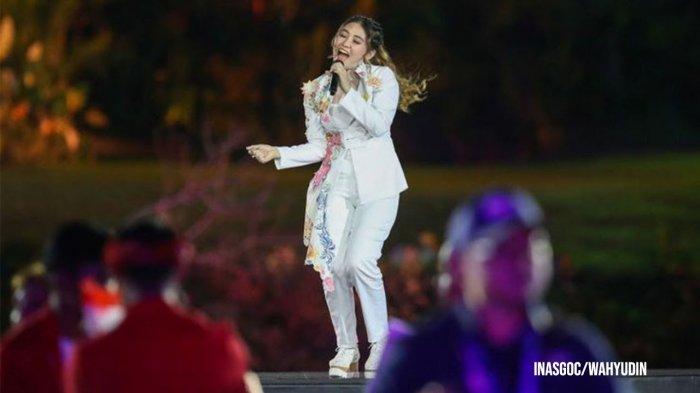 Pujian Rossa Untuk Via Vallen Setelah Sukses Tampil di Pembukaan Asian Games 2018