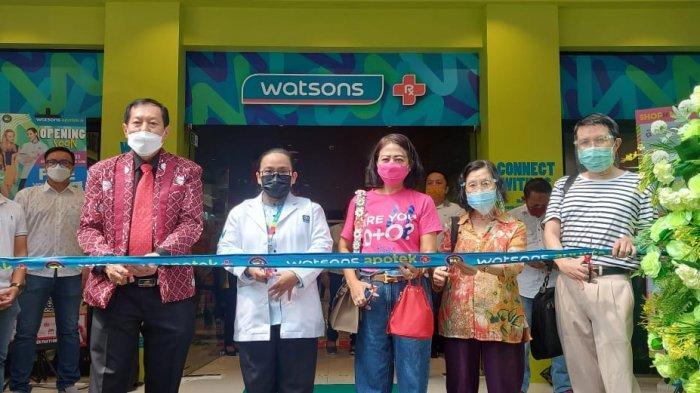 Perluas Jaringan, Watsons Buka Gerai Ke 152 di Kelapa Gading Jakarta Utara