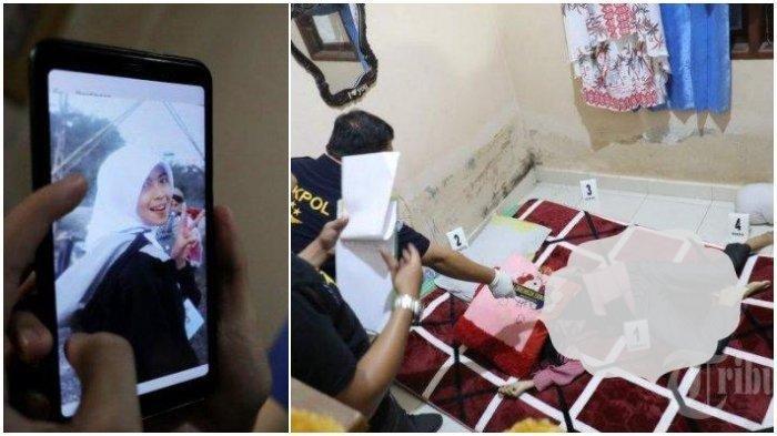 Histeris, Pemeran Pengganti Rekonstruksi Kasus Mahasiswi yang Dibunuh Pacar di Makassar Kesurupan