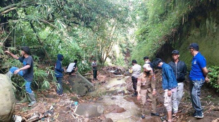 Lokasi ditemukannya mayat Weni Tania pada Jumat (5/2/2021).