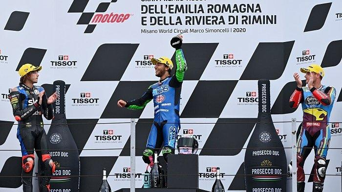 Hasil Moto2 Teruel 2020: Sam Lowes Juara, Adik Valentino Rossi Merana