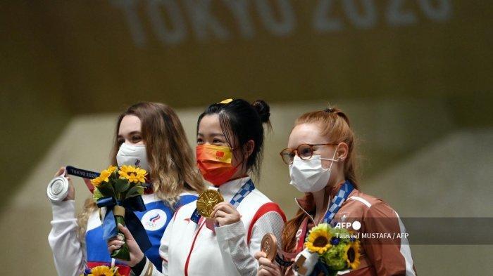 Hasil Perolehan Medali Olimpiade 2021 - Emas Pertama Diraih China dari Cabor Menembak
