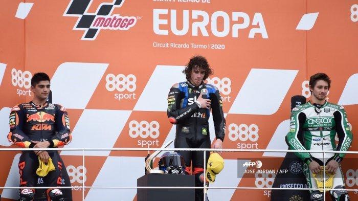 Anak Murid Valentino Rossi Jadi Kandidat Pengganti Andrea Iannone di Aprilia