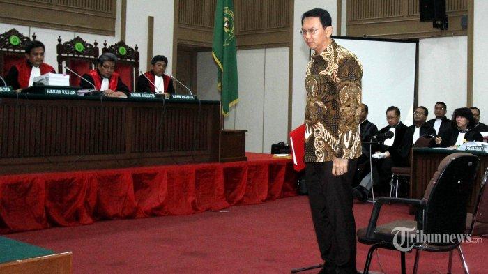 Ahok Tanggapi Kasus Dana Bansos yang Membelit Sylviana Murni