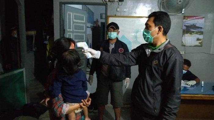 Lanal Tanjung Balai Asahan Amankan 20 TKI Ilegal Dini Hari Tadi yang Datang dari Malaysia