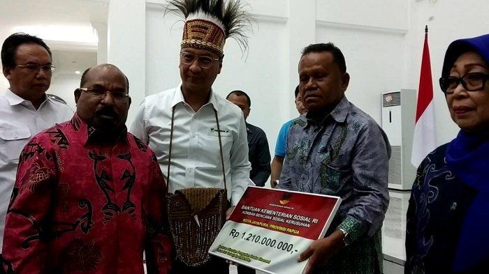Kemensos Kucurkan Rp 7,3 Miliar Gerakan Roda Perekonomian Papua dan Papua Barat