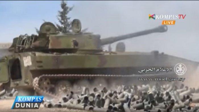 Tentara Suriah Kalahkan Pasukan Oposisi di Kota Hama