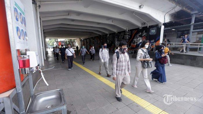 50 891 Pekerja Di Jakarta Kena Phk Akibat Wabah Virus Corona Tribunnews Com Mobile