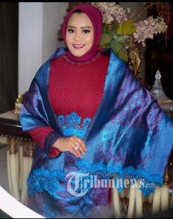 Ketua Umum Yayasan Cinta Budaya Kain Nusantara dan Komunitas Tenun Tradisional Indonesia Ana Mariana.
