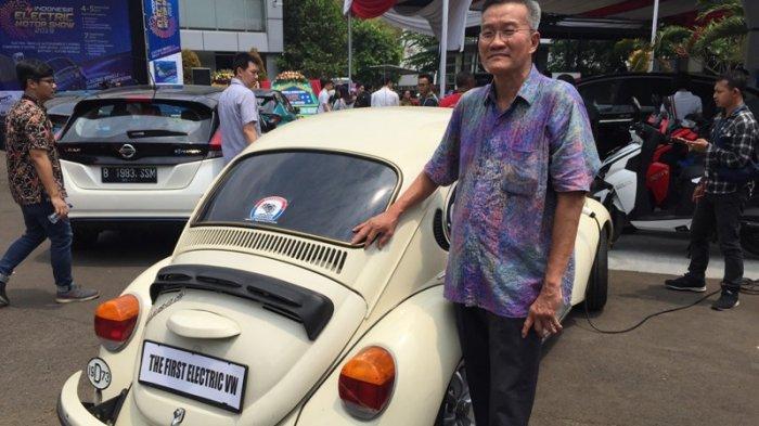 Pemilik Volkswagen Kodok Beetle rakitan 1973, Rudi Susanto Rahardjo.