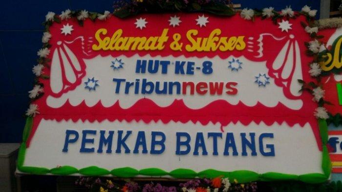 Pemkab Batang Ucapkan Selamat HUT ke-8 Tribunnews.com
