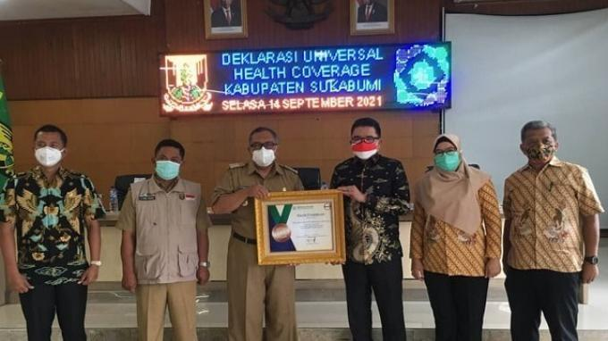Pandemi Tidak Halangi Kabupaten Sukabumi Capai Universal Health Coverage
