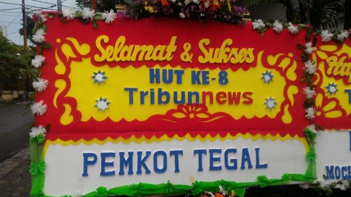 Pemerintah Kota Tegal Ucapkan Selamat HUT ke-8 Tribunnews.com