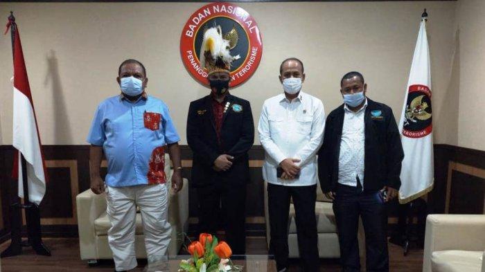 Pemuda Adat Papua Dukung KKB Ditetapkan Sebagai Organisasi Teroris Lokal Saat Temui Kepala BNPT