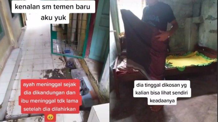 VIRAL Kisah Pemuda Bernama Indra, Ayah Ibu Meninggal Sejak Ia Bayi, Kini Menganggur karena Pandemi