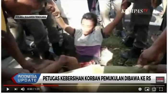 Petugas Kebersihan di Kolaka Diserang Pemuda hingga Berdarah, Pelaku Diduga Gangguan Jiwa