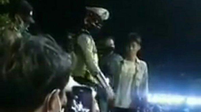 Viral Video Pemuda Marah Sambil Tunjuk-tunjuk Polisi, Tak Terima Ditegur gara-gara Tak Pakai Masker