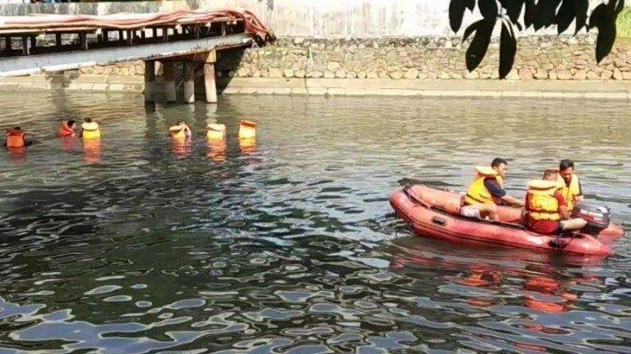 Seorang Pria Terpeleset dari Pipa dan Tenggelam di Kali Sunter, Hingga Kini Belum Ditemukan