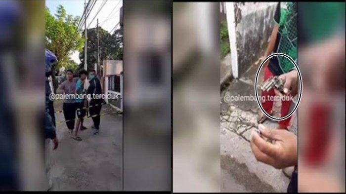 Pemuda Ini Todongkan Korek Api Berbentuk Pistol ke Tukang Ojek di Palembang