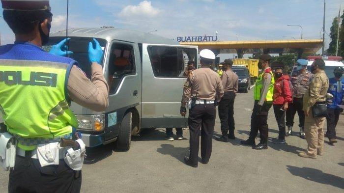 4.041 Kendaraan Terjaring Razia Pelarangan Mudik, Seluruhnya Diminta Putar Balik ke Jakarta