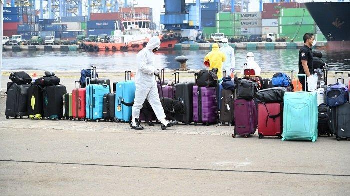 Pemulangan 375 Anak Buah Kapal Pesiar Carnival Splendor Difasilitasi Kemenhub