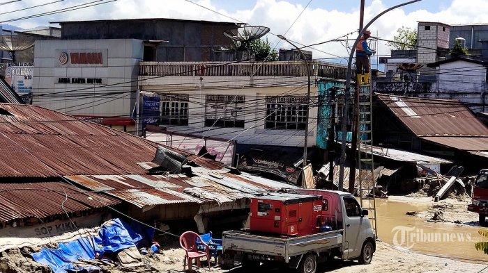 TNI AU Kerahkan Dua Pesawat dan Satu Helikopter untuk Bantu Korban Banjir Luwu Utara