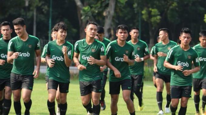 Pemusatan Latihan Hari Ketiga Timnas Indonesia U-22 Asah Penyelesaian Akhir