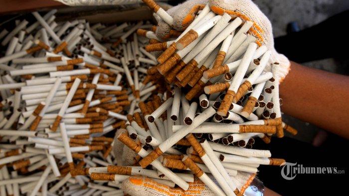2.000 bungkus Rokok Diamankan Saat Turun dari Kapal