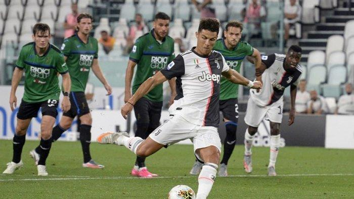 Penalti Cristiano Ronaldo gagalkan kemenangan Atalanta