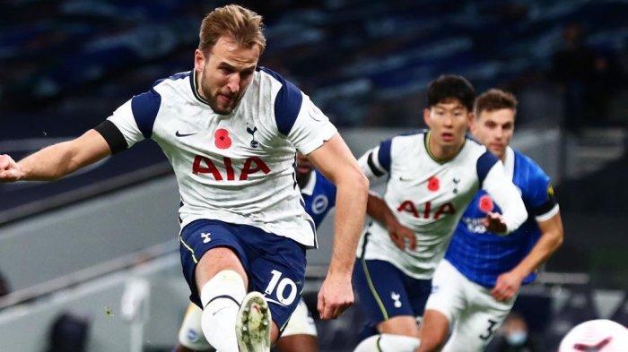 Live Streaming SCTV & Mola TV, Spurs vs Man City di Liga Inggris, Kane Absen, Grealish Starter