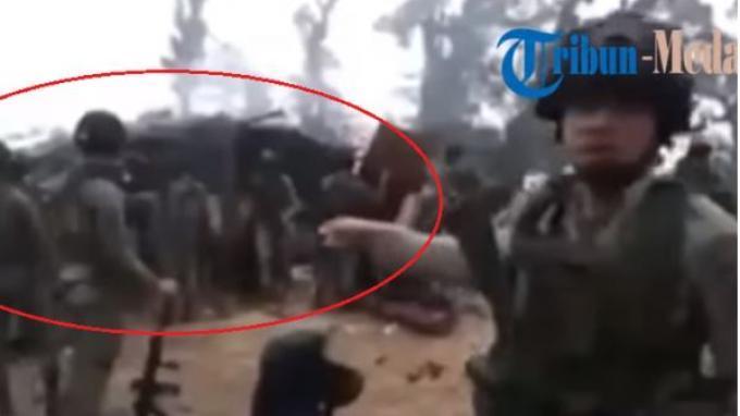 Penampakan markas kelompok kriminal bersenjata (KKB) Papua