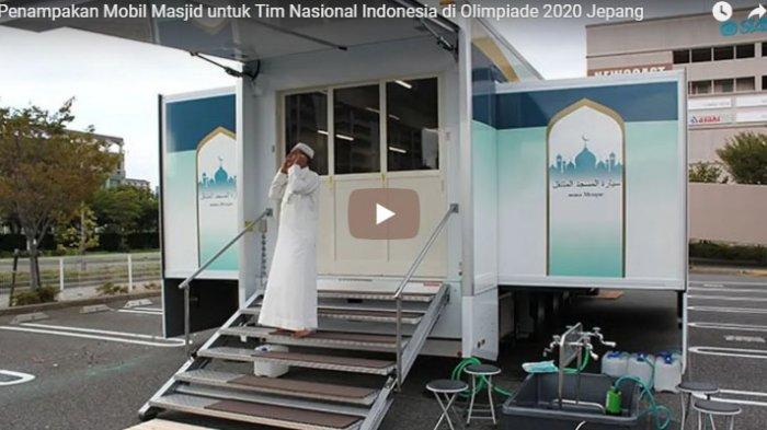 Penampakan Mobil Masjid untuk Tim Nasional Indonesia di Olimpiade 2020 Jepang