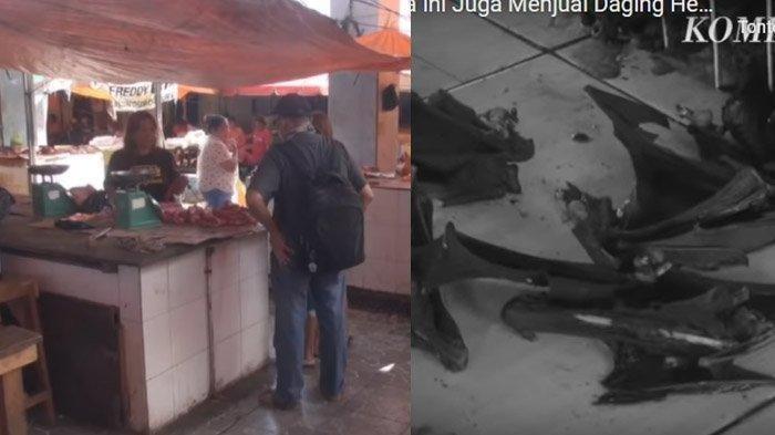Jual Daging Hewan Liar, Pasar di Manado ini Mirip dengan Huanan Seafood Market di Wuhan