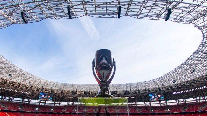 Penampakan Piala Super Eropa