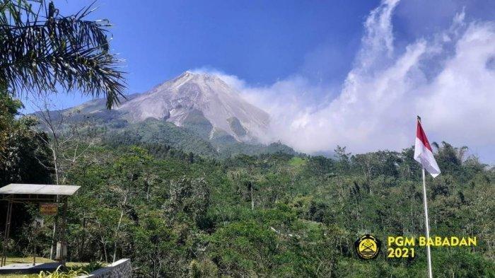 Seharian Kemarin Merapi Kembali Batuk, Luncurkan 15 Kali Guguran Lava Pijar