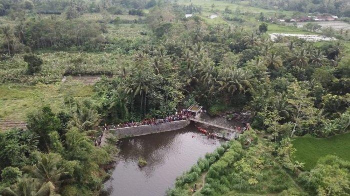 Penampakan Sungai Sempor