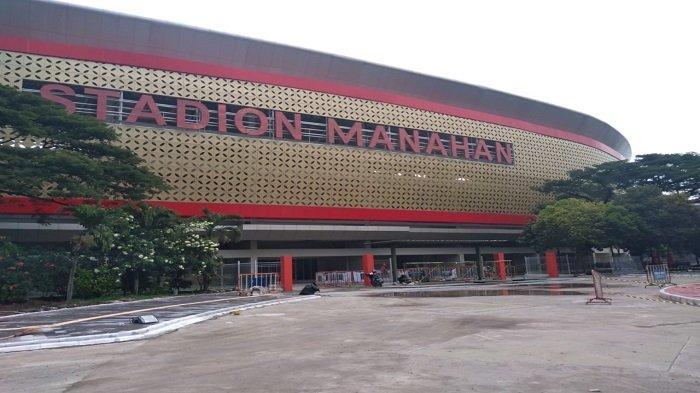 Penampakan terbaru Stadion Manahan, Solo, Rabu (7/4/2021).