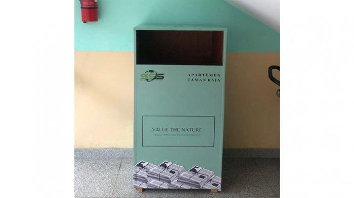 penampungan pengolahan daur ulang