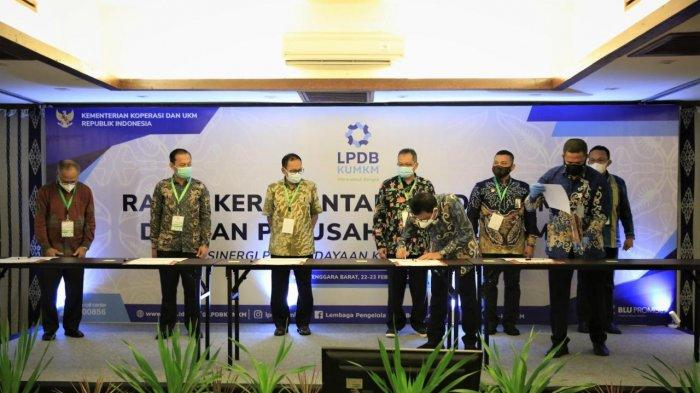 LPDB-KUMKM Tandatangani Kerja Sama dengan Lembaga Penjamin Daerah