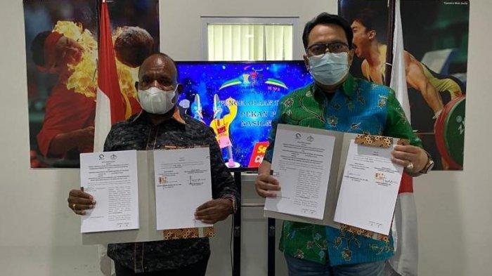 Panitia Besar Pekan Paralimpik Nasional 2021 dan LPDUK Siap Sukseskan Peparnas XVI Papua