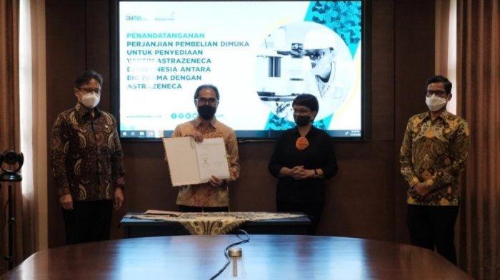Indonesia Resmi Beli 50 Juta Dosis Vaksin AstraZeneca dan Novavax