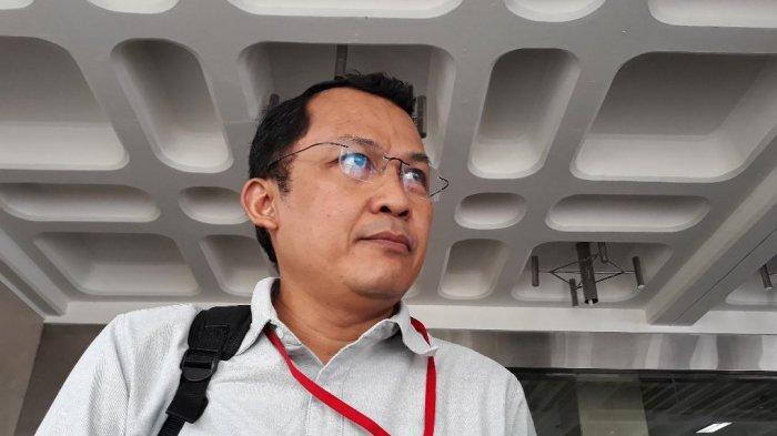 Penasihat KPK, Mohammad Tsani Annafari mendaftar sebagai calon pimpinan (Capim) KPK, Kamis (4/7/2019) siang di Kantor Setneg, Jakarta Pusat.