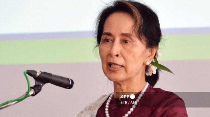 Junta Militer Myanmar Tuntut Aung San Suu Kyi atas Dugaan Korupsi