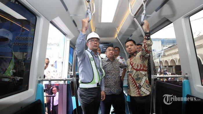 Pembangunan Metro Kapsul Bandung Dimulai, Ridwan Kamil Sebut Tanpa Uang Rakyat