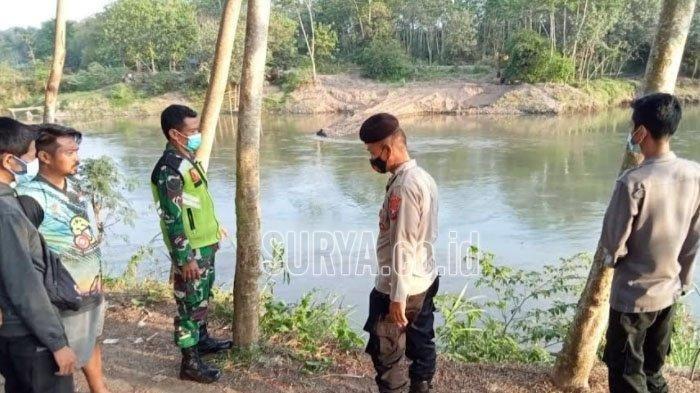 Satu dari 2 Pelajar SMP yang Hanyut di Sungai Brantas Blitar Belum Ditemukan