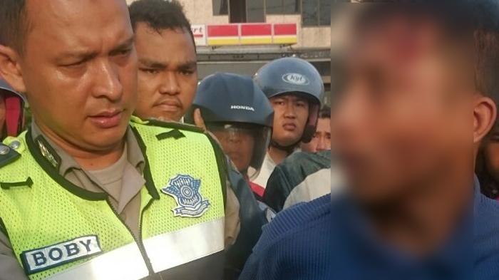 Pencuri Bensin Diringkus Setelah Sempat Dikejar Polisi