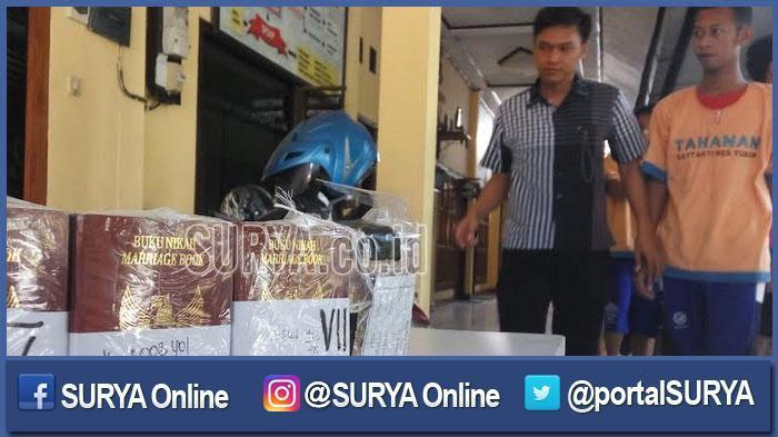 Banyak Dipesan, Dua Warga Rembang Curi Buku Nikah di Tuban